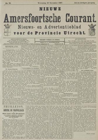 Nieuwe Amersfoortsche Courant 1907-11-20