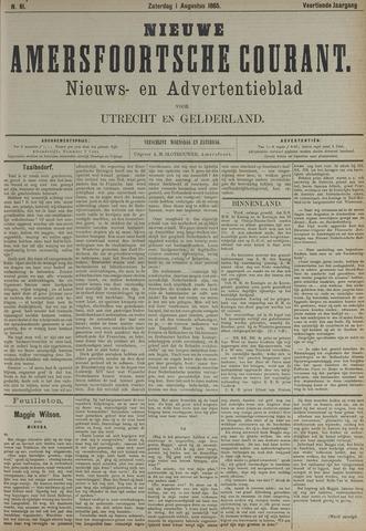 Nieuwe Amersfoortsche Courant 1885-08-01