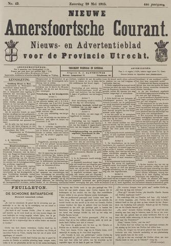 Nieuwe Amersfoortsche Courant 1915-05-29