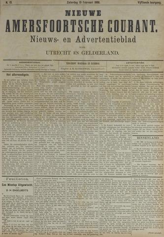 Nieuwe Amersfoortsche Courant 1886-02-13