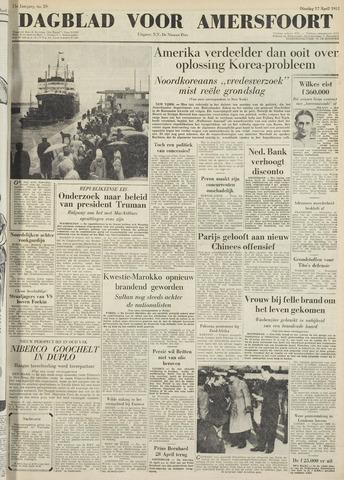 Dagblad voor Amersfoort 1951-04-17