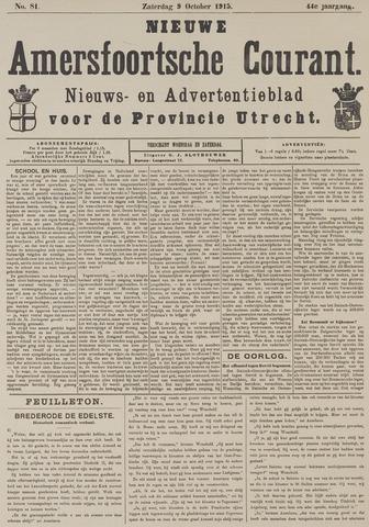 Nieuwe Amersfoortsche Courant 1915-10-09