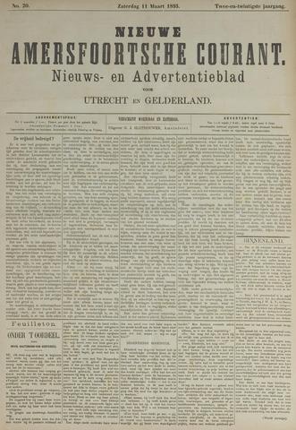 Nieuwe Amersfoortsche Courant 1893-03-11