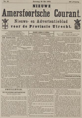 Nieuwe Amersfoortsche Courant 1915-05-22