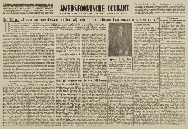 Amersfoortsche Courant 1945