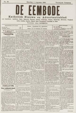 De Eembode 1906-08-04