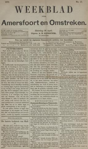 Weekblad voor Amersfoort en Omstreken 1872-04-20