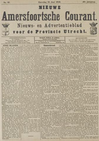Nieuwe Amersfoortsche Courant 1919-06-21
