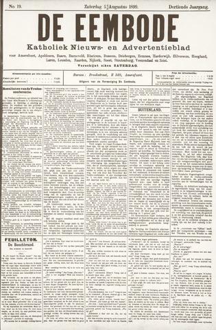 De Eembode 1899-08-05