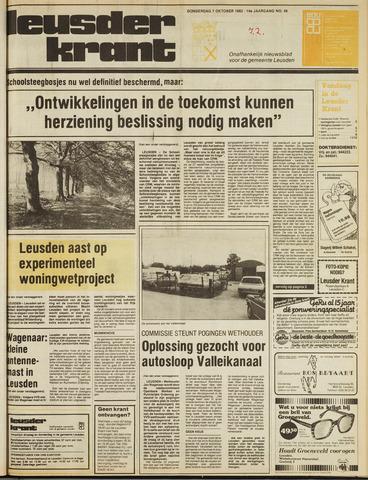 Leusder Krant 1982-10-07