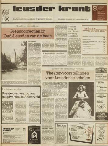 Leusder Krant 1987-01-22