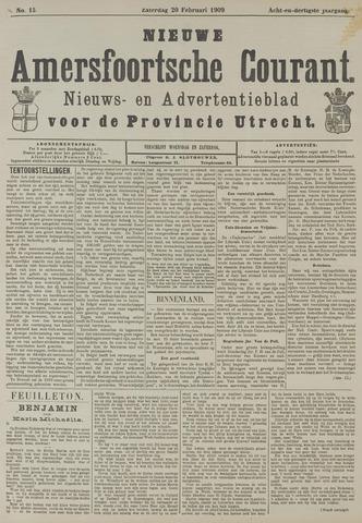 Nieuwe Amersfoortsche Courant 1909-02-20