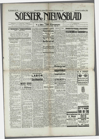 Soester Courant 1924-08-23