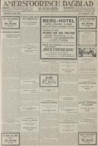 Amersfoortsch Dagblad / De Eemlander 1929-06-13