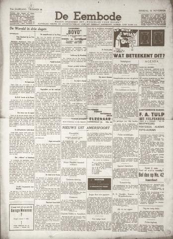 De Eembode 1937-11-16