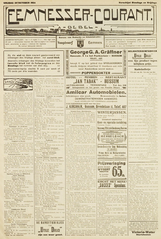 Eemnesser Courant 1924-10-24