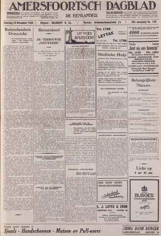 Amersfoortsch Dagblad / De Eemlander 1934-11-24