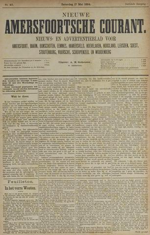 Nieuwe Amersfoortsche Courant 1884-05-17