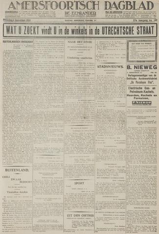 Amersfoortsch Dagblad / De Eemlander 1928-12-03