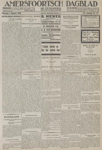 Amersfoortsch Dagblad / De Eemlander 1928-08-01