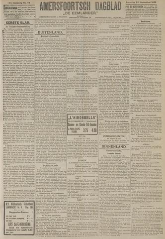 Amersfoortsch Dagblad / De Eemlander 1922-09-23