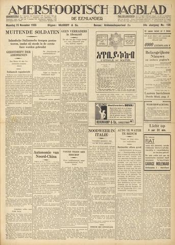 Amersfoortsch Dagblad / De Eemlander 1935-11-25