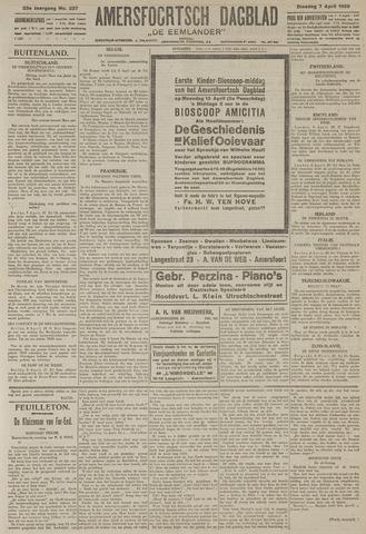 Amersfoortsch Dagblad / De Eemlander 1925-04-07