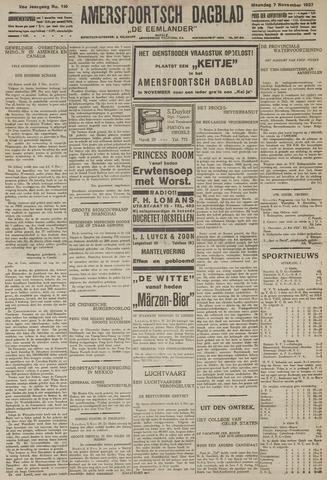 Amersfoortsch Dagblad / De Eemlander 1927-11-07