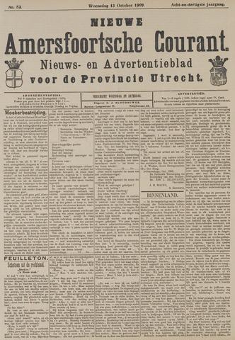Nieuwe Amersfoortsche Courant 1909-10-13
