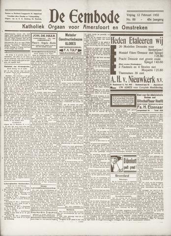 De Eembode 1932-02-12