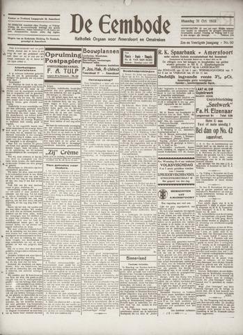 De Eembode 1932-10-31