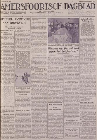 Amersfoortsch Dagblad / De Eemlander 1941-11-03