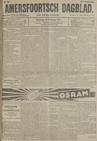 Amersfoortsch Dagblad / De Eemlander 1917-02-13