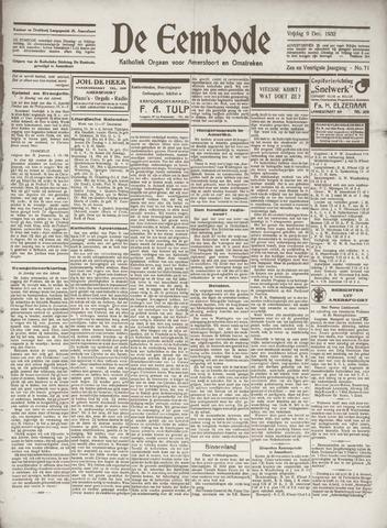 De Eembode 1932-12-09