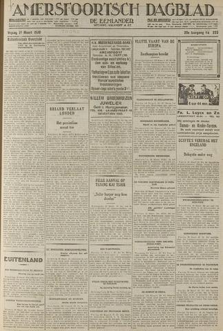 Amersfoortsch Dagblad / De Eemlander 1930-03-21