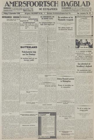 Amersfoortsch Dagblad / De Eemlander 1930-09-12