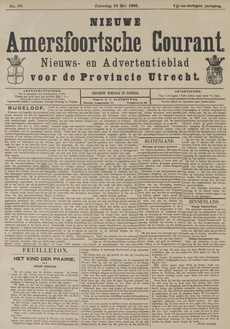 Nieuwe Amersfoortsche Courant 1906-05-19