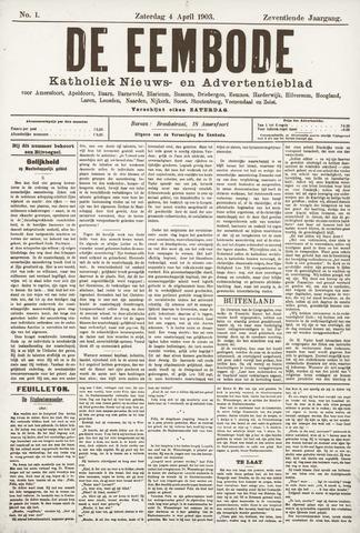 De Eembode 1903-04-04