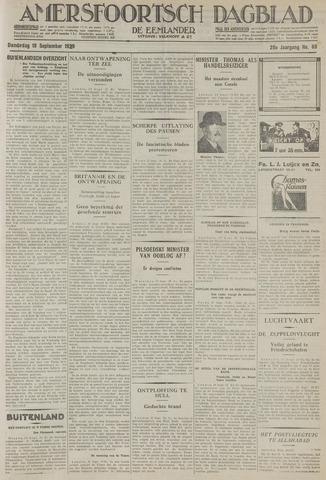 Amersfoortsch Dagblad / De Eemlander 1929-09-19