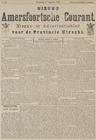 Nieuwe Amersfoortsche Courant 1898-08-17