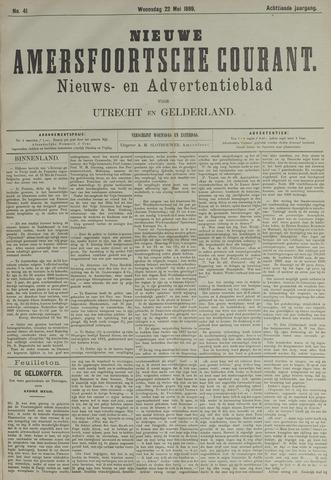 Nieuwe Amersfoortsche Courant 1889-05-22