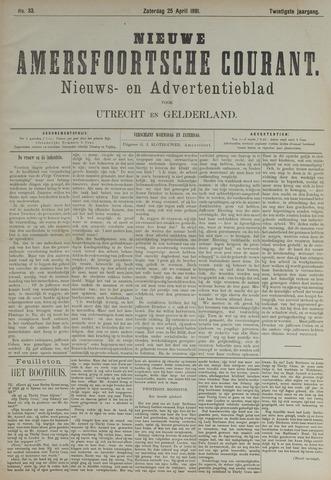 Nieuwe Amersfoortsche Courant 1891-04-25