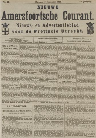 Nieuwe Amersfoortsche Courant 1916-09-09