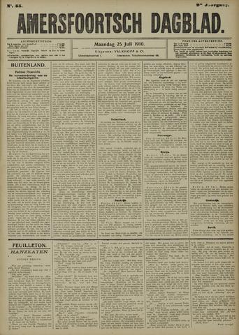 Amersfoortsch Dagblad 1910-07-25