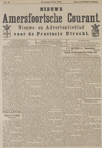 Nieuwe Amersfoortsche Courant 1910-05-18
