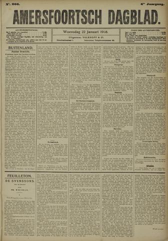 Amersfoortsch Dagblad 1908-01-22