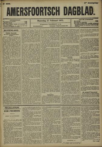 Amersfoortsch Dagblad 1905-02-27