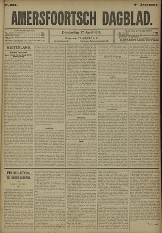Amersfoortsch Dagblad 1911-04-27