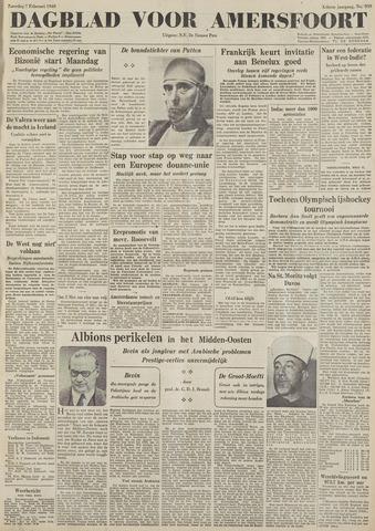 Dagblad voor Amersfoort 1948-02-07