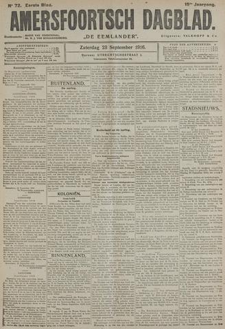 Amersfoortsch Dagblad / De Eemlander 1916-09-23